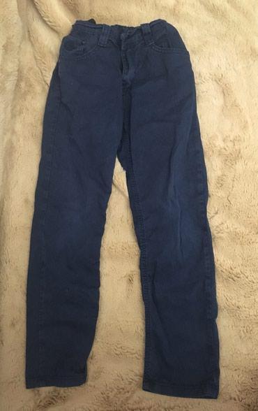 Детский мир в Баетов: Детские брючки-джинсы на мальчика 7-8 лет, Турция б/у в отличном