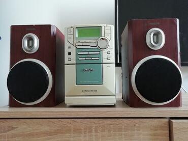 Philips xenium x128 - Srbija: Muzička linija Philips MC 200. Linija ima radio FM, CD, dek za