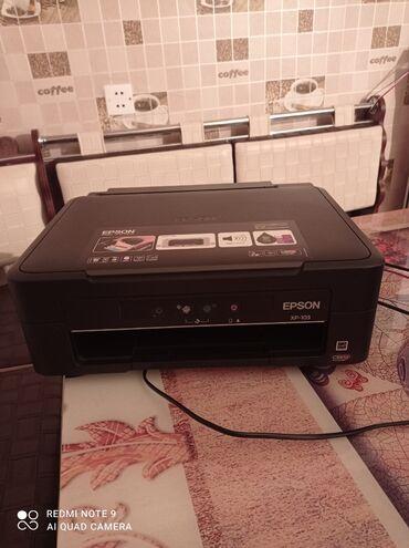 - Azərbaycan: Printer.Epson XP-103.yenidir.Bir dəfə işlənib
