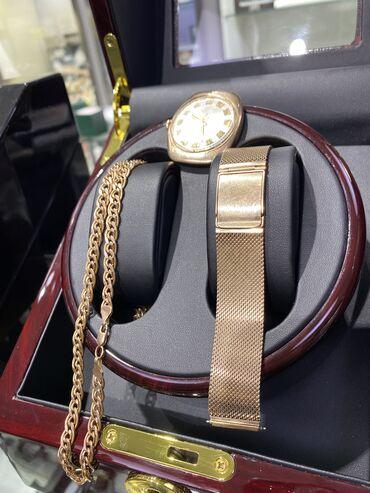 купить умные часы в бишкеке in Кыргызстан | АВТОЗАПЧАСТИ: Продаю Золотой браслет миланского плетения или браслет Сетка. Браслет