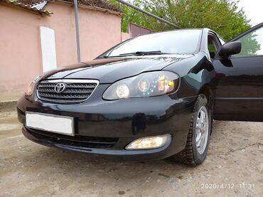 Унаалар - Худжанд: Toyota Corolla 1.8 л. 2006   123456 км