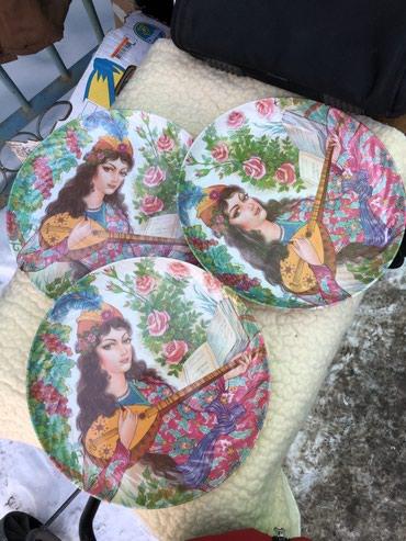 Подносы в Кыргызстан: Большие тарелки. Иранский меламин