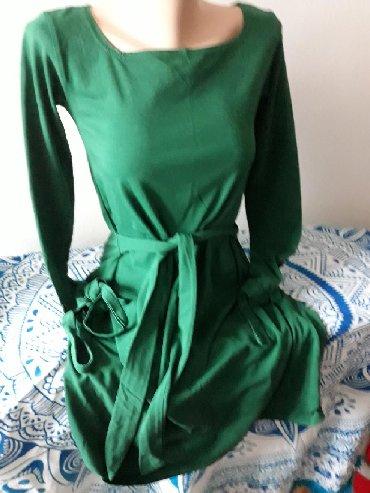 Haljina nova L velicina sa pojasom nova kupljena preko interneta