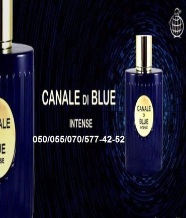 Bakı şəhərində Fragrance World Canal-Di-Blue-Intense Eau De Parfum Natural Sprey for