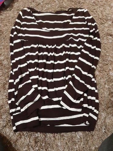 Duga haljina americi - Srbija: Braon majica dug rukav