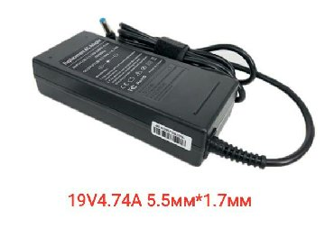 блоки питания для ноутбуков fsp в Кыргызстан: 19V4.74A 5.5мм*1.7ммноутбук адаптер переменного тока Шнур питания для