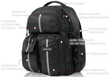 Nov ranac za SRL/DLSR foto aparate + tasna za laptop - Vrsac
