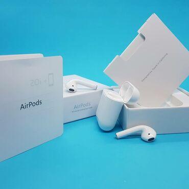 наушники air в Азербайджан: AirPods 2 Premium Class ➡️Yüksək keyfiyyətli səs➡️ Asanlaşdırılmış