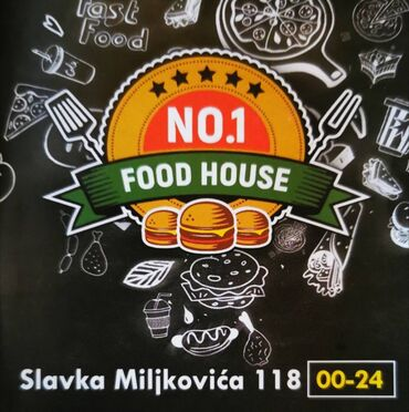 """Food house No1"" iz Resnika potražuje radnika na poziciji dostave"