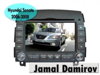 Bakı şəhərində Hyundai sonata 2006-2008  üçün dvd- monitor. Dvd- монитор