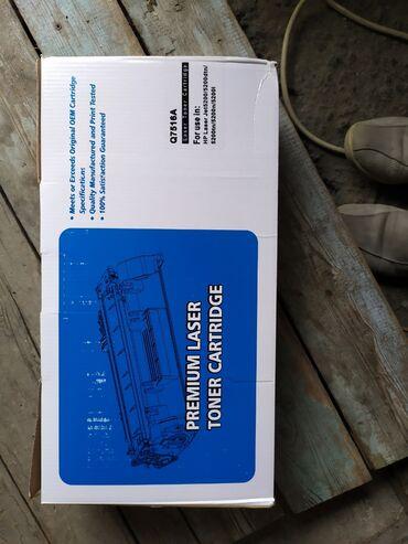 printer hp laser jet 1018 в Кыргызстан: Картридж Q7516A для HP LaserJet 5200  3-штук