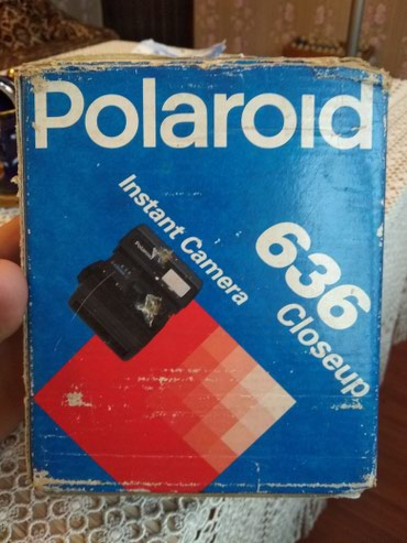 Polaroid 636 closeup yenidir cox az isdifadə edilib. - Bakı