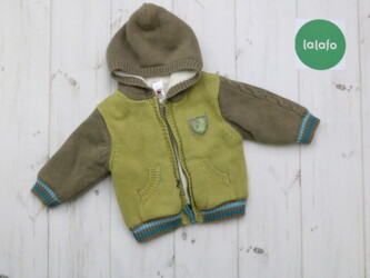 Теплая детская куртка на вовне Baby Club,р.68 см    Длина: 28 см Пог