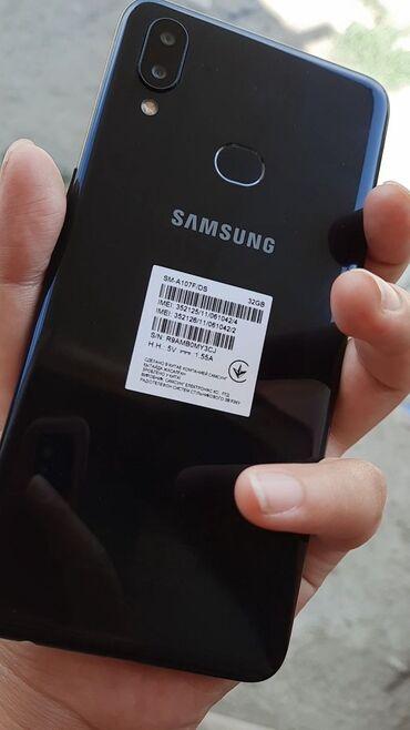 Электроника - Чолпон-Ата: Samsung A10s   32 ГБ   Черный   Отпечаток пальца