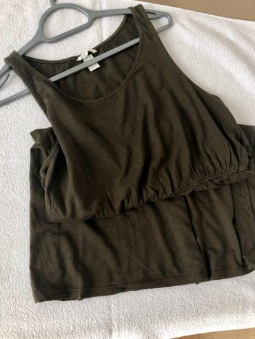 HM pamucna haljina, velicina L, ali vodite se merama: sirina 54cm, - Belgrade