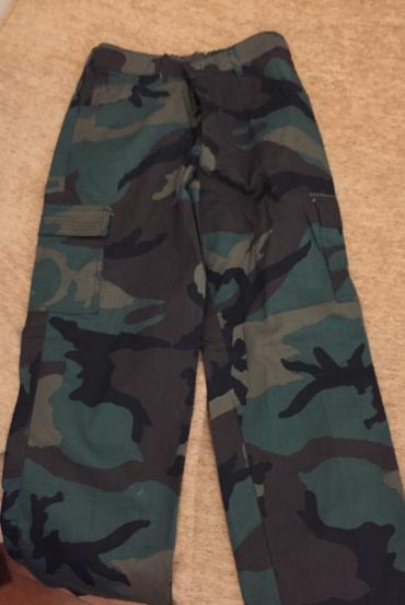 Cotton camouflage pants . New bought 32€ . Age/Size 14  σε North & East Suburbs