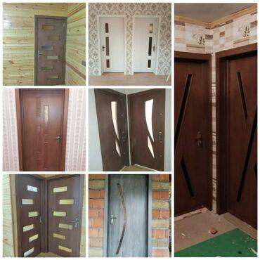 входные двери стекло в Азербайджан: Двери   Дерево, МДФ