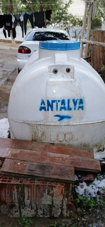 Su çəni satılır 1 tonluq 130 azna heç bir deffekti yoxdur 1 ilin