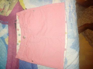 C&A suknja. Mnogo lepša uživo. Jako roze boje. Vel.128' Kao - Cuprija