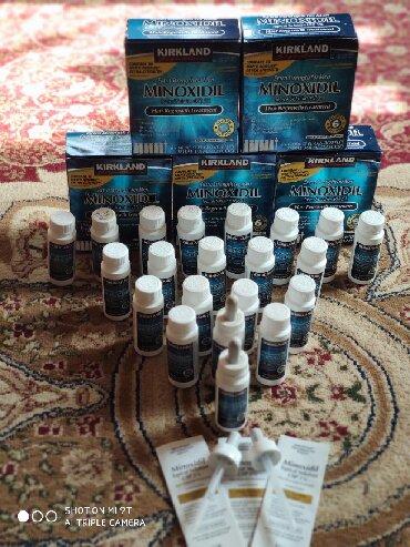 Красота и здоровье - Кара-Суу: Minoxidil original.1шт 800.3шт 2250.6шт 4000.Сакал остуру,Чач