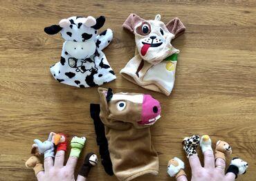детские игрушки куклы в Кыргызстан: Игрушки  Детский театр Театр Развивающие, обучающие игрушки  Куклы на
