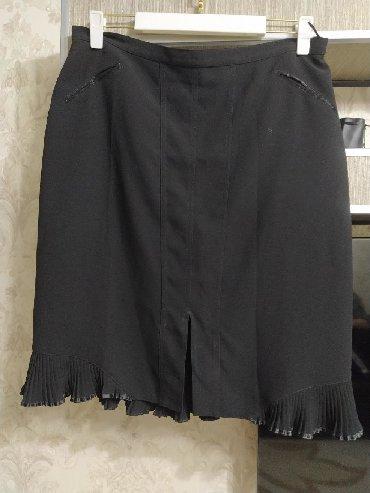 Юбка женская В отличном состоянии Размер 50-52 Ткань креп