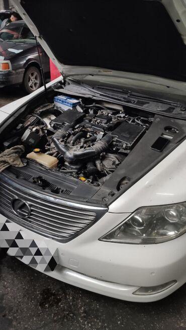 lexus slide в Кыргызстан: Продаю двигатель на Lexus LS 460 в нерабочем состоянии, можно сделать