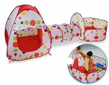 Детская палатка станет отличным дополнением игровой зоны, ведь