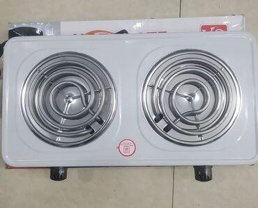 zhenskoe pareo plate в Азербайджан: Hot plate fırması 2-gozlu elektrık plitesı spirallı teze qutusunda