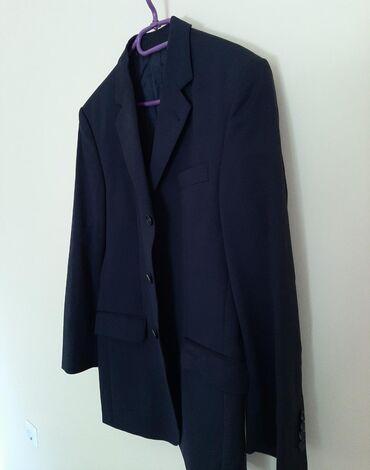 DOLZER muški crni sako. Vel XL. Nemacke proizvodnje