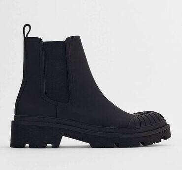 Ботинки Zara (оригинал) Качество отличное  Размер 37 (большемерит)
