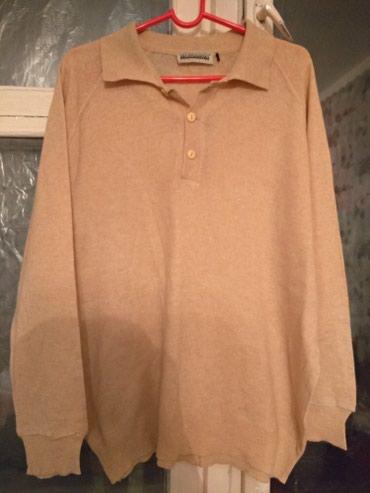 Мужская одежда в Беловодское: Качественная кофточка большой размер 54-56 р, лёгкая и теплая (шерсть)