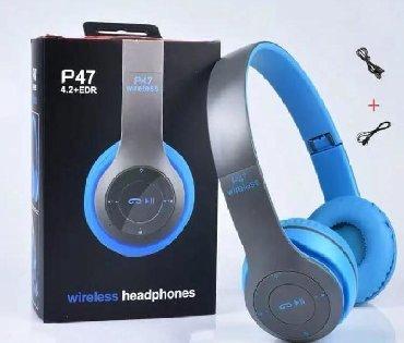 bluetooth naushnik - Azərbaycan: Bluetooth Nauşnik P47