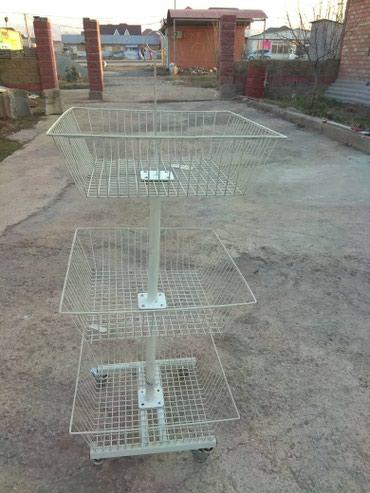 Продается для магазина торговые полки ..стеллажи в Бишкек