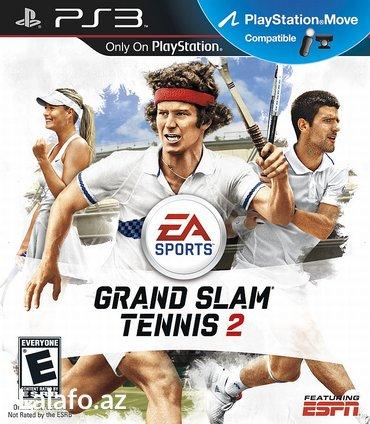 """tennis - Azərbaycan: """"grand slam tennis 2"""" ps3 diski"""