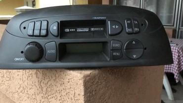 Elektronika - Cuprija: Radiokasetofon Blaupunkt Fiat Punto 1.2-8v-2001Prodajem radiokasetofon