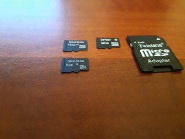 карты памяти для видеокамеры в Кыргызстан: Продаю Mini SD Card и адаптеры для телефонов, в отличном