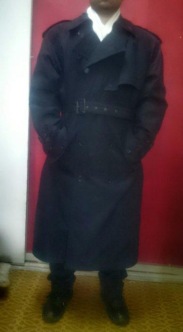 продаю плащ, мужской. одевал пару раз на встречу. размер 54 на рост 17 в Бишкек