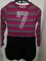 Dečija odeća i obuća - Valjevo: Kombinezon(haljinica) za devojcice Veličina 8 128cm 500din