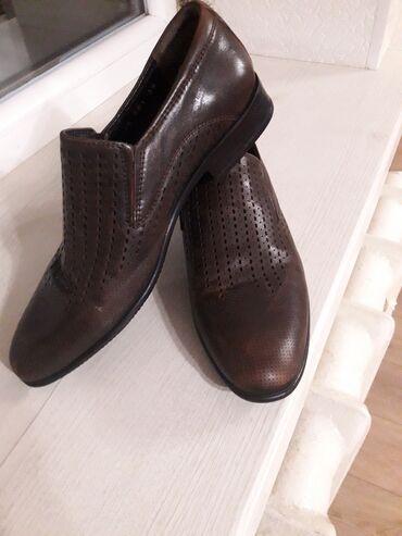 Личные вещи - Нижний Норус: Продаю туфли на подростка фирмы Classica производство Турция Leon