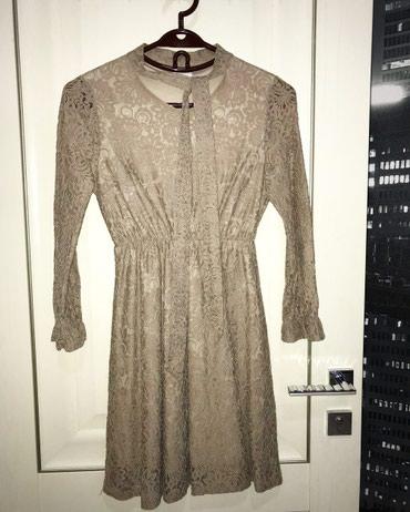 Платья - Баетов: Продается платье. Размер S. Длина до колен. Цена- 500 сом