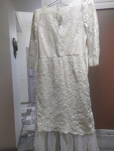 нарядные платья на свадьбу в Кыргызстан: Очень нежное платье. Одевала один раз на свадьбу.Размер 42-44