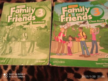 samsung ativ book в Кыргызстан: Книга Family and friends 2nd edition, Class book Work book, Oxford 4