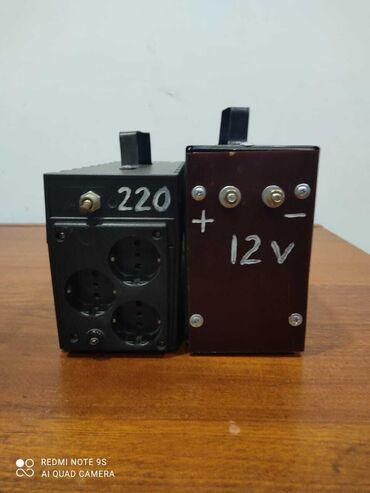 аккумулятор 12 в Азербайджан: Инвентор 500 Ват Преобразует постоянный ток от аккумулятора 12 вольт в