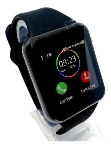 Smart watch a1Nomre desteyi Yaddas kartiKameraSes yazmaMp3 AlarmMsj