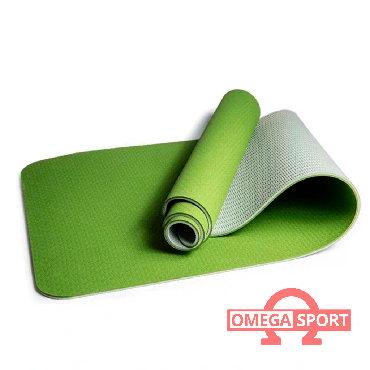 Коврик для йоги и фитнеса TRE YOGAОписание:Коврик для занятий йогой