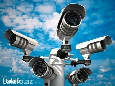 установка кондиционера в Азербайджан: Təhlükəsizlik kameralarının zəmanətlə ustanovka və satışı. 4 kamera