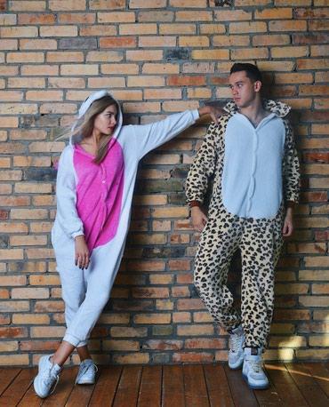 Пижамы-кигуруми для него и для неё в Бишкек