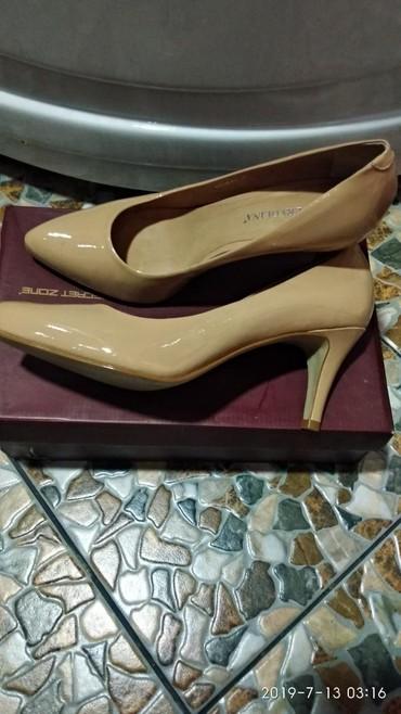 shoes в Кыргызстан: Продаю туфли на каблуках.Состояние новое.41размер.Кара-Балта