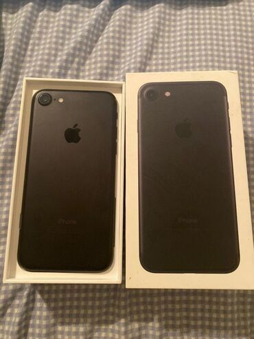 iphone 7 в Кыргызстан: Б/У iPhone 7 32 ГБ Черный